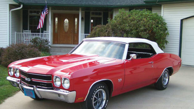 1970 Chevelle LS-6 convertible