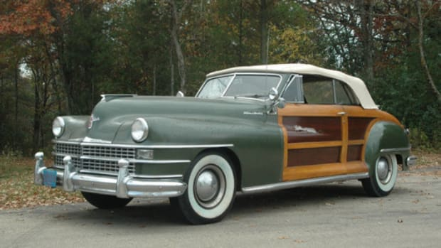 1948 Chrysler Town and Country convertible