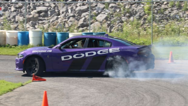 "Carlisle Events Chrysler Nationals will offer the amazingly popular ""Hellcat Thrill Rides"" in 2020."