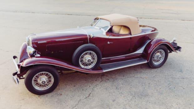 1934 Auburn Salon Speedster