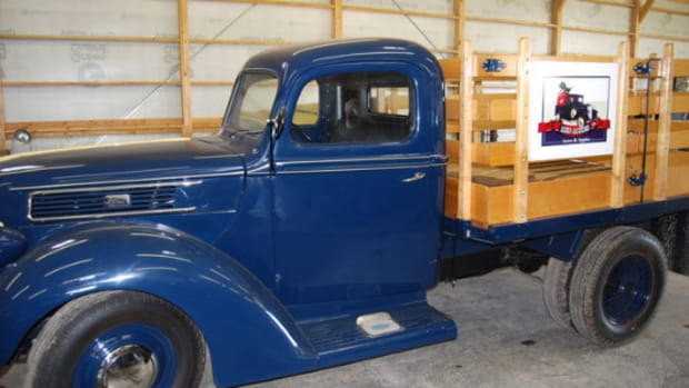 1941 Ford stake truck