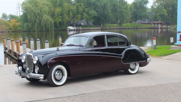 1958 Jaguar Mark VIII
