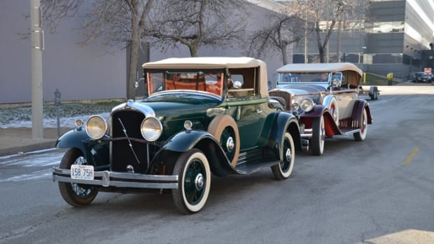 Prior to World War II, designs of cars like this Marmon and Pierce-Arrow from 1931 were based on testing the desires and needs of buyers.