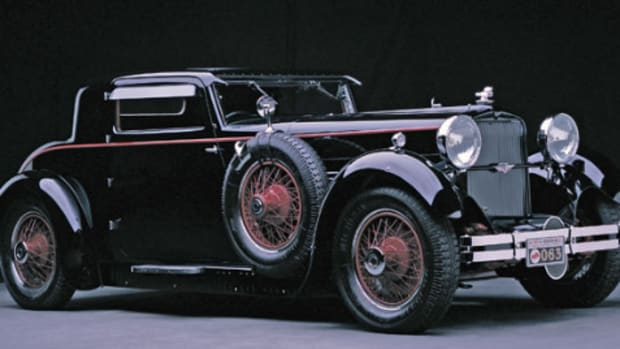1929 Stutz Model M coupe