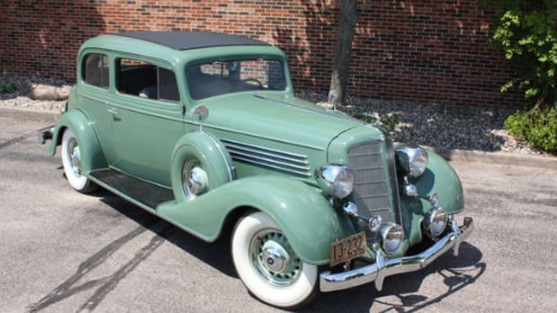 1934 Buick Victoria coupe