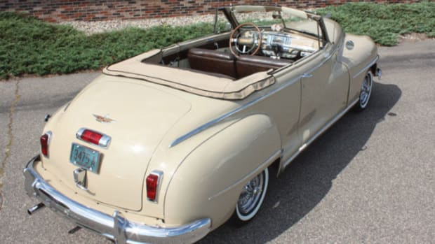 1948 DeSoto Custom convertible coupe