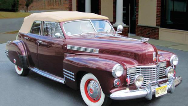 1941 Cadillac convertible sedan