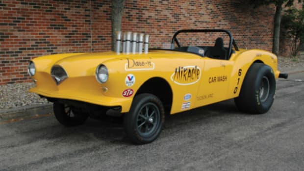 1954 Kaiser Darrin drag car
