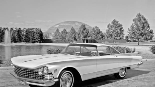 1958 Buick XP 75 Concept