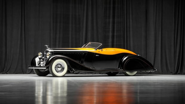 "1936 Deco Rides ""Maharaja Special"" One-Off Custom, built by Terry Cook of Deco Rides and Delahaye USA"