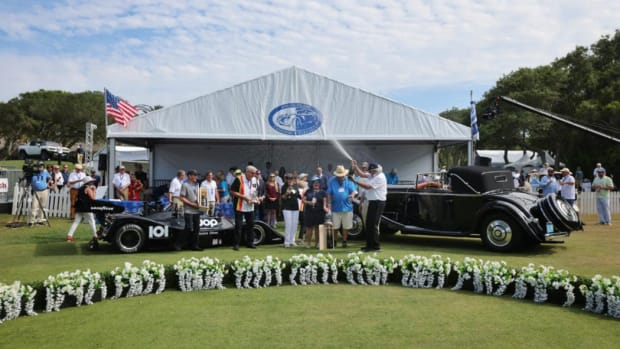 2021 Best in Show Amelia Island Concours dElegace 2