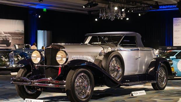 1929 Duesenberg Model J 'Disappearing Top'
