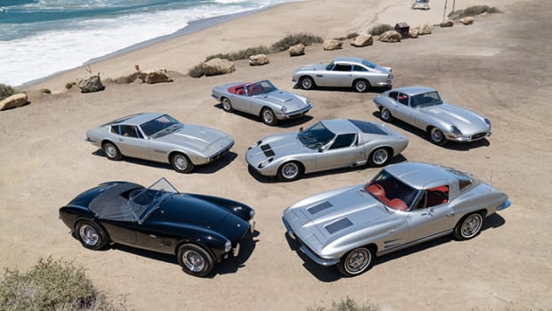 """Neil Peart's """"Silver Surfers"""" Collection, presented at Gooding & Company's 2021 Pebble Beach Auctions."""