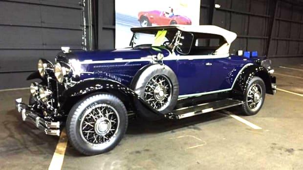 David Landow's 1931 Buick 8-94 Sport Roadster