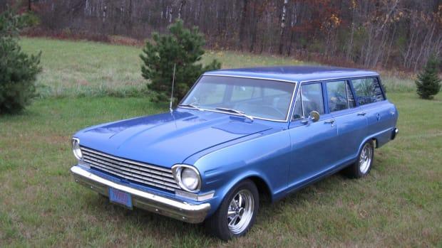 1963 Chevrolet Nova station wagon 1