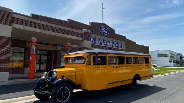 1930 Ford Model AA School Bus Gilmore Car Museum [2]