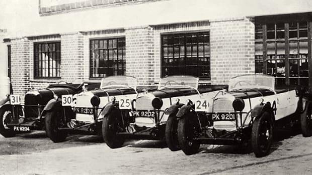 Fox & Nicholl Lagonda Team in 1929