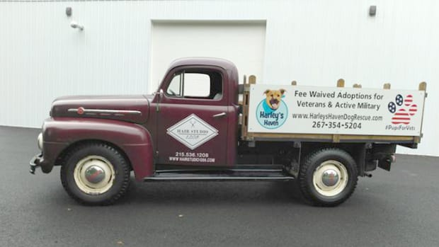 1952 Ford F3 to be auctioned off with proceeds going to Harley's Haven Dog Rescue