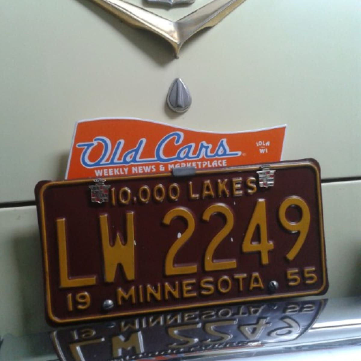 Old Cars License Plate Topper Makes A Great Christmas Gift Old Cars Weekly