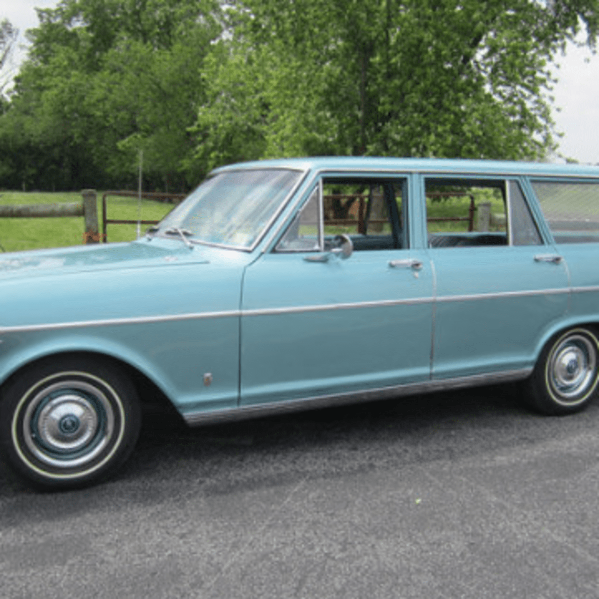 Car Of The Week 1962 Chevrolet Nova Station Wagon Old Cars Weekly
