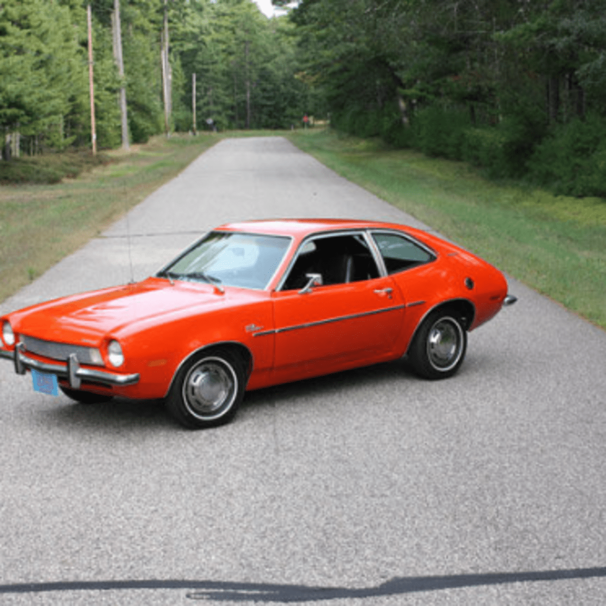 Car Of The Week 1972 Ford Pinto Old Cars Weekly