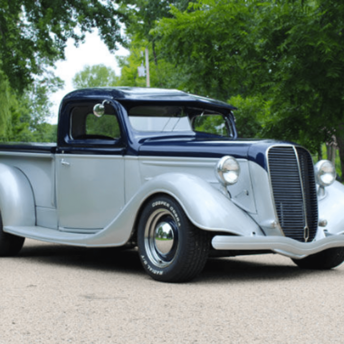 Car Of The Week 1937 Ford Pickup Street Rod Old Cars Weekly