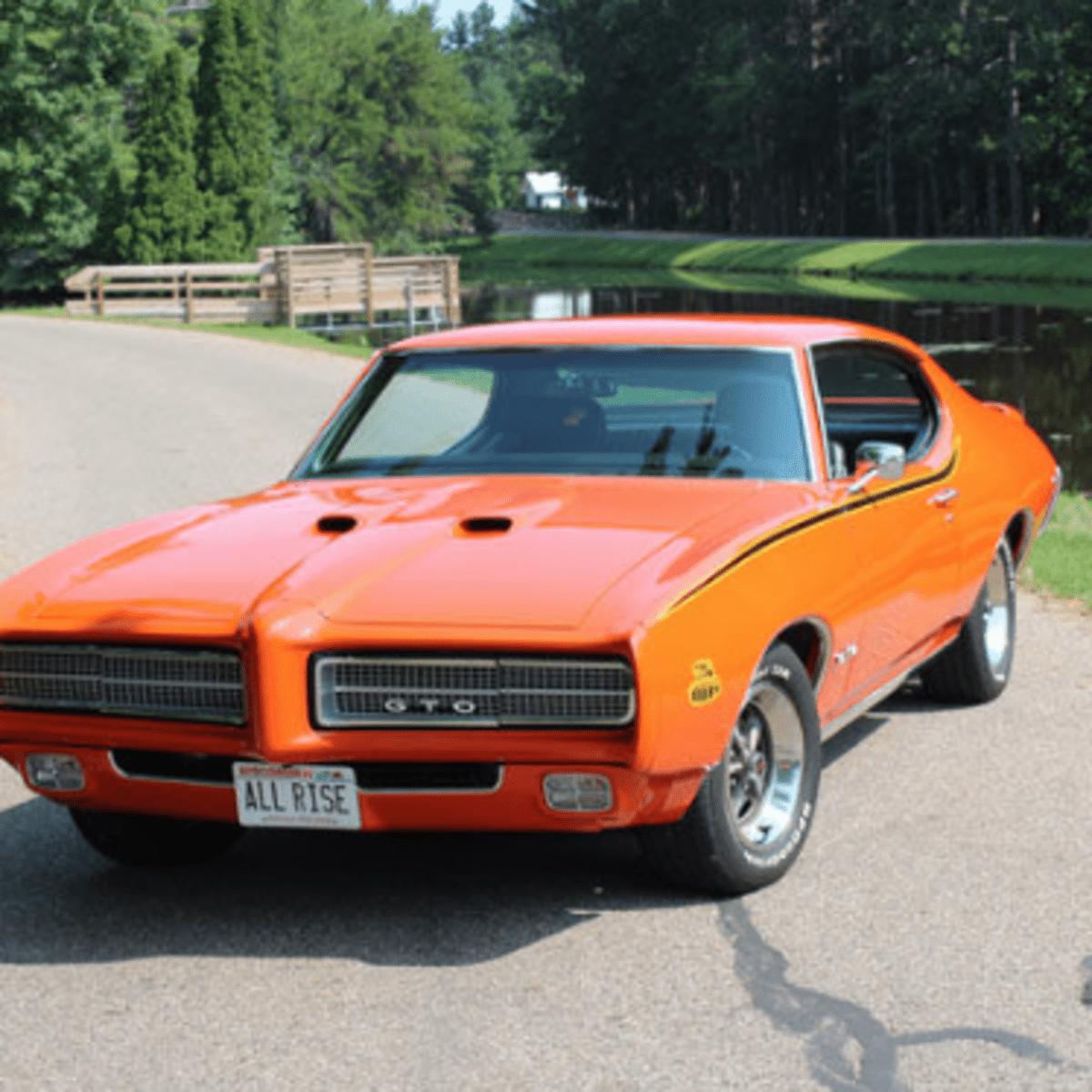 Car Of The Week 1969 Pontiac Gto Judge Old Cars Weekly