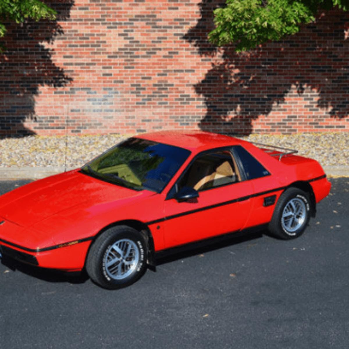 Car Of The Week 1985 Fiero Se Old Cars Weekly