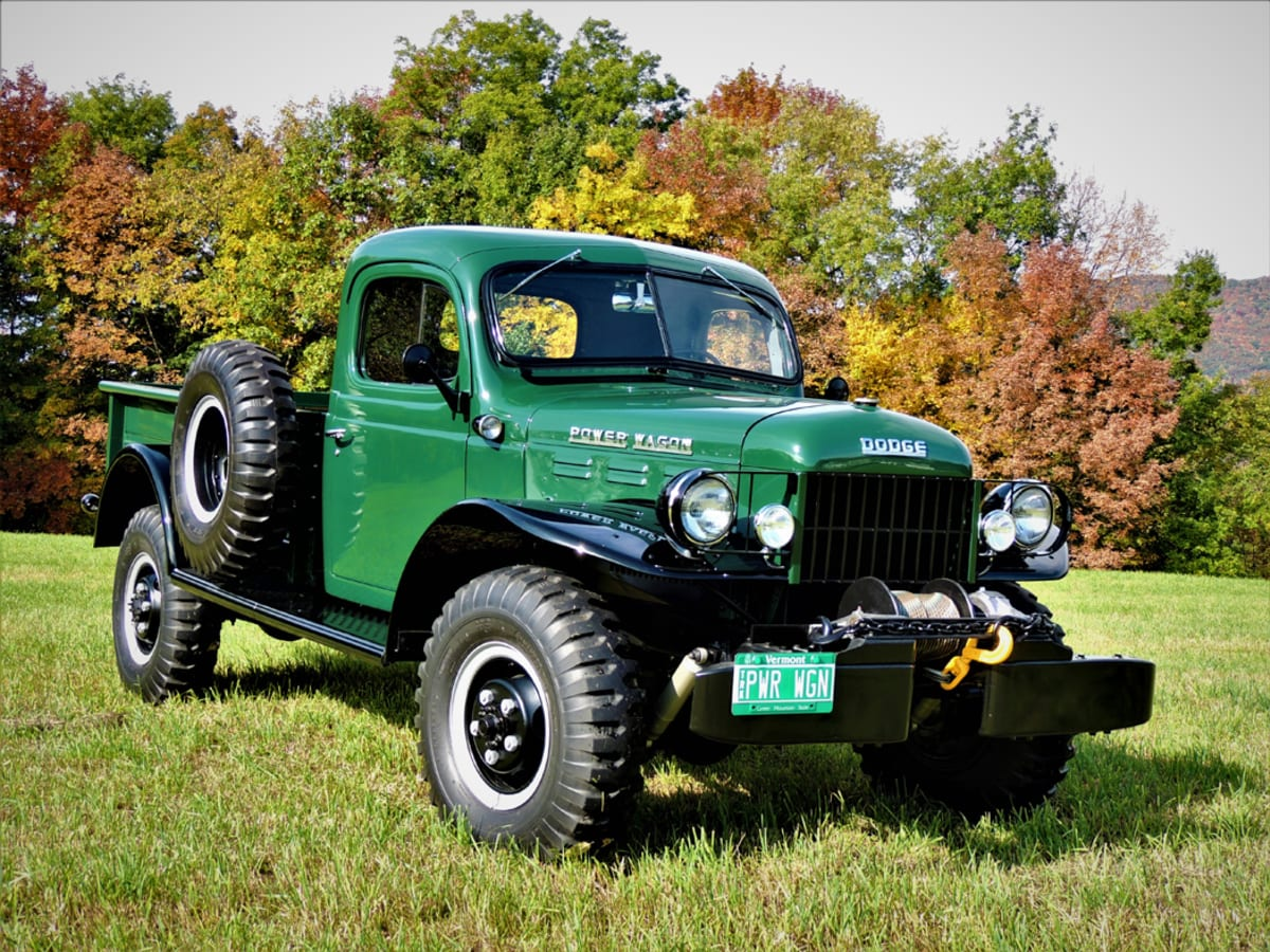 Old Cars Reader Wheels 1956 Dodge Power Wagon Old Cars Weekly