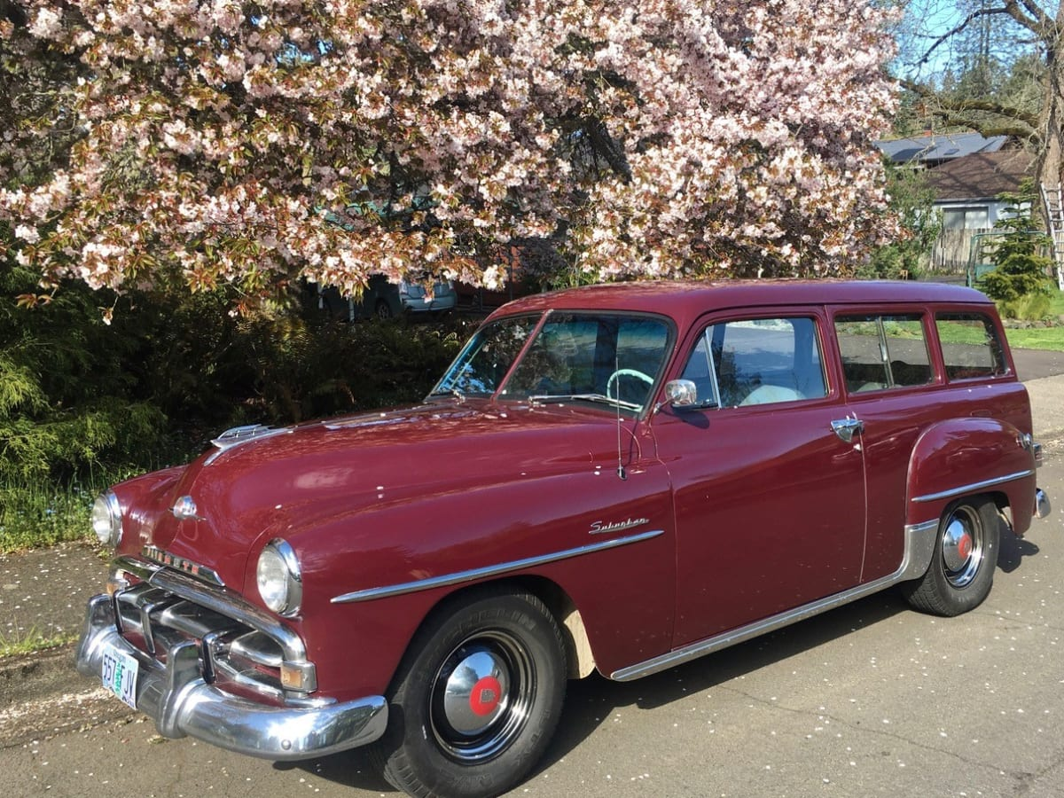 Car Of The Week 1952 Plymouth Suburban Old Cars Weekly