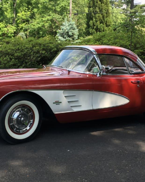1961 Corvette - JOHN KEANE