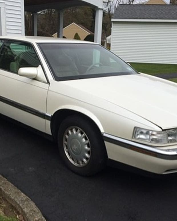 94 Caddy 3 qtr front