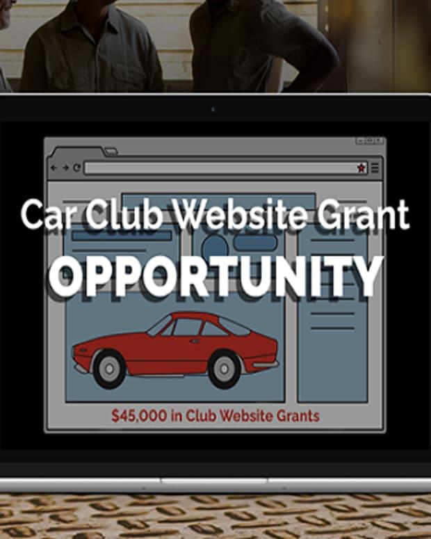 Car Club Website Grant
