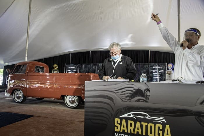 Fourth annual Saratoga Motorcar Auction realizes $3.7 million in sales