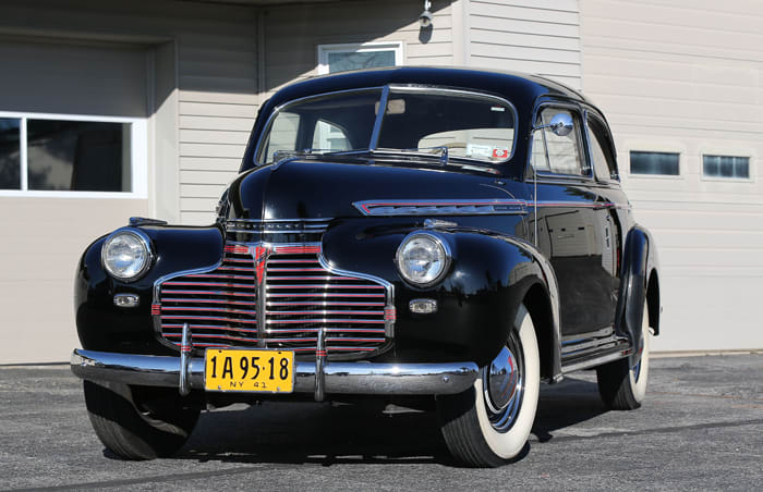 Old Cars Reader Wheels: 1941 Chevrolet Special Deluxe Town Sedan once owned by Gale Sayers