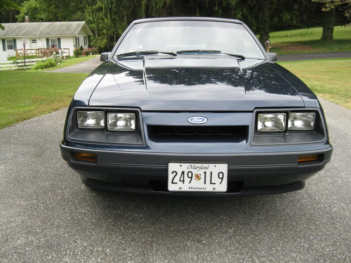 Old Cars Reader Wheels: 1985 Ford Mustang 2-door sedan