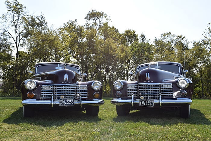 AACA Museum, Inc. spotlights recent acquisition of 1941 Series 62 Cadillacs