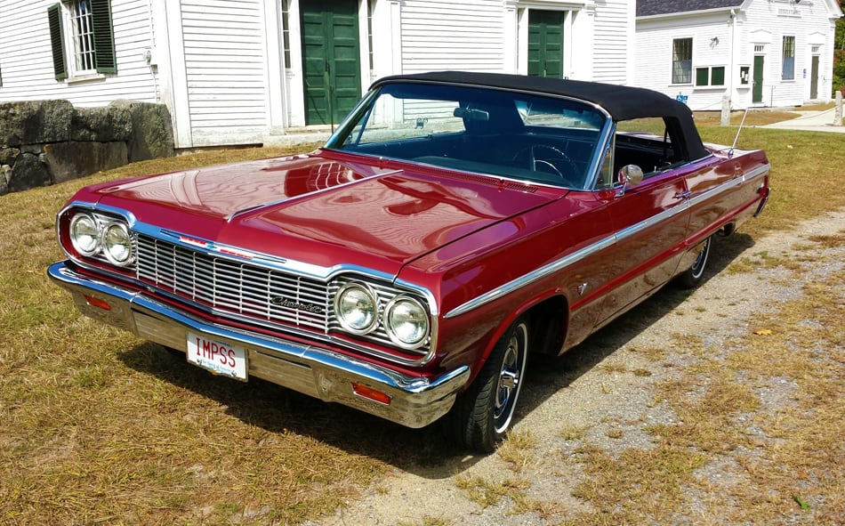 Old Cars Reader Wheels: 1964 Chevrolet Impala SS convertible