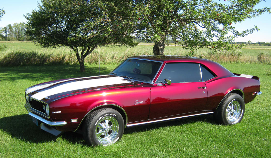 Old Cars Reader Wheels: 1968 Chevrolet Camaro