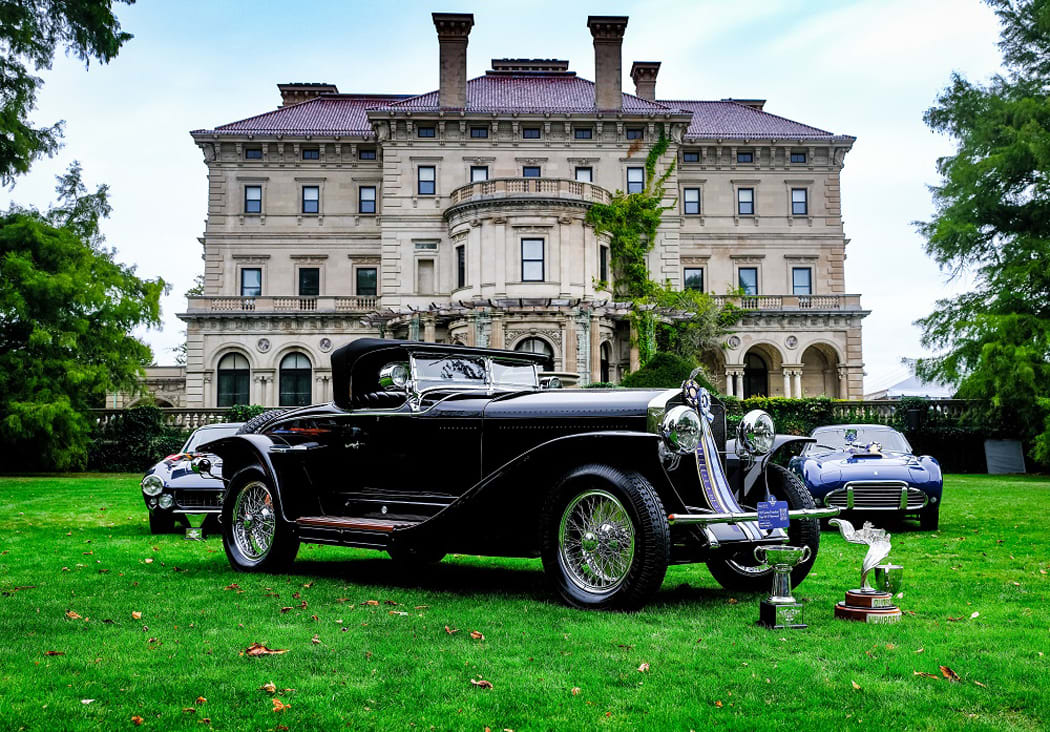Tickets now on sale for the 2021 Audrain Newport Concours Motor Week