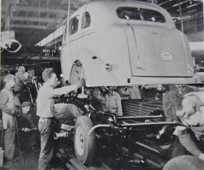 Inside the factory: Chrysler 1936