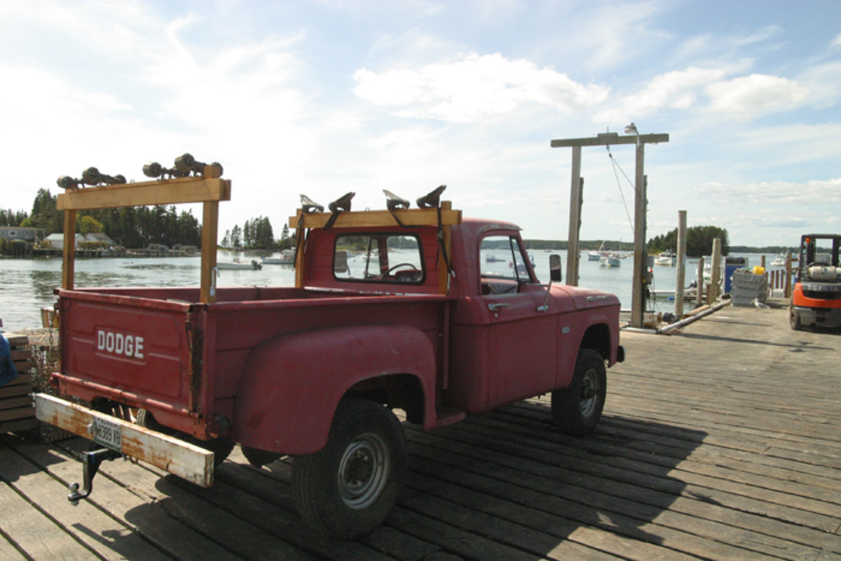 This 1961 Dodge W-100 Power Wagon still earns its keep.