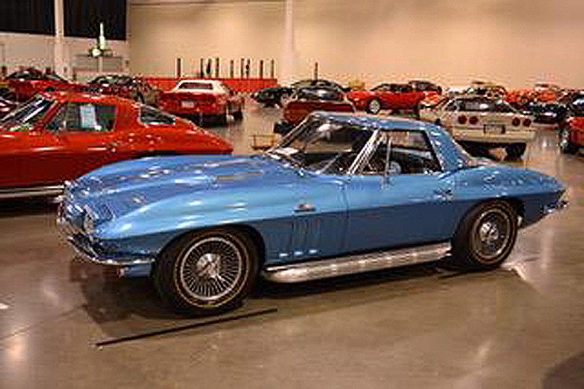 1966 Corvette -  LINDA STROHM-DUNLAP