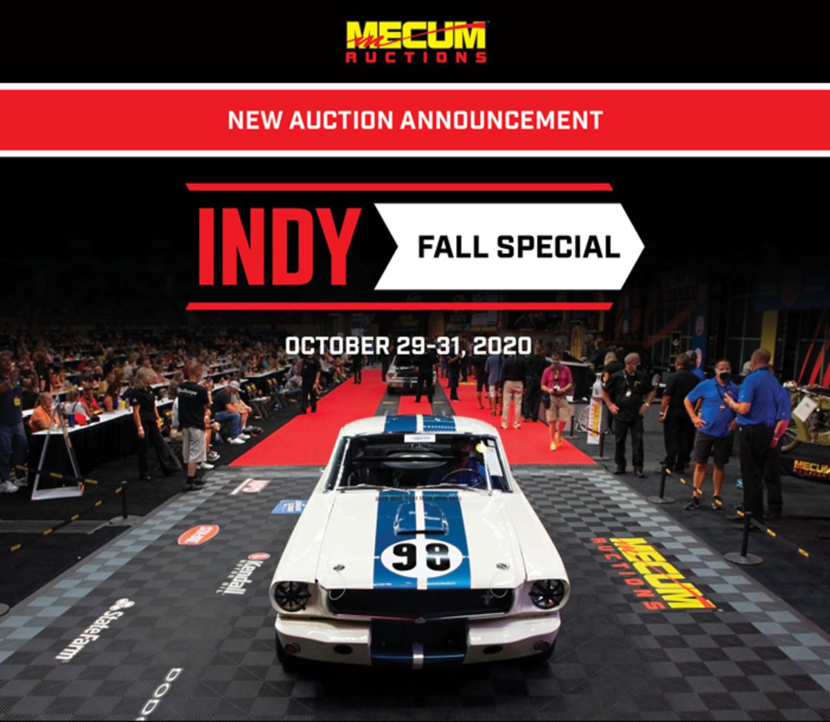 Mecum Indy Fall