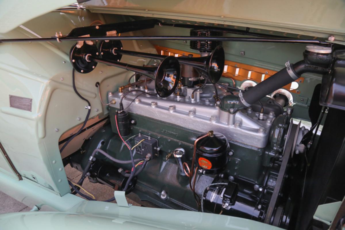 Purolator-Motor Improvements. Inc. supplied the external oil filter.