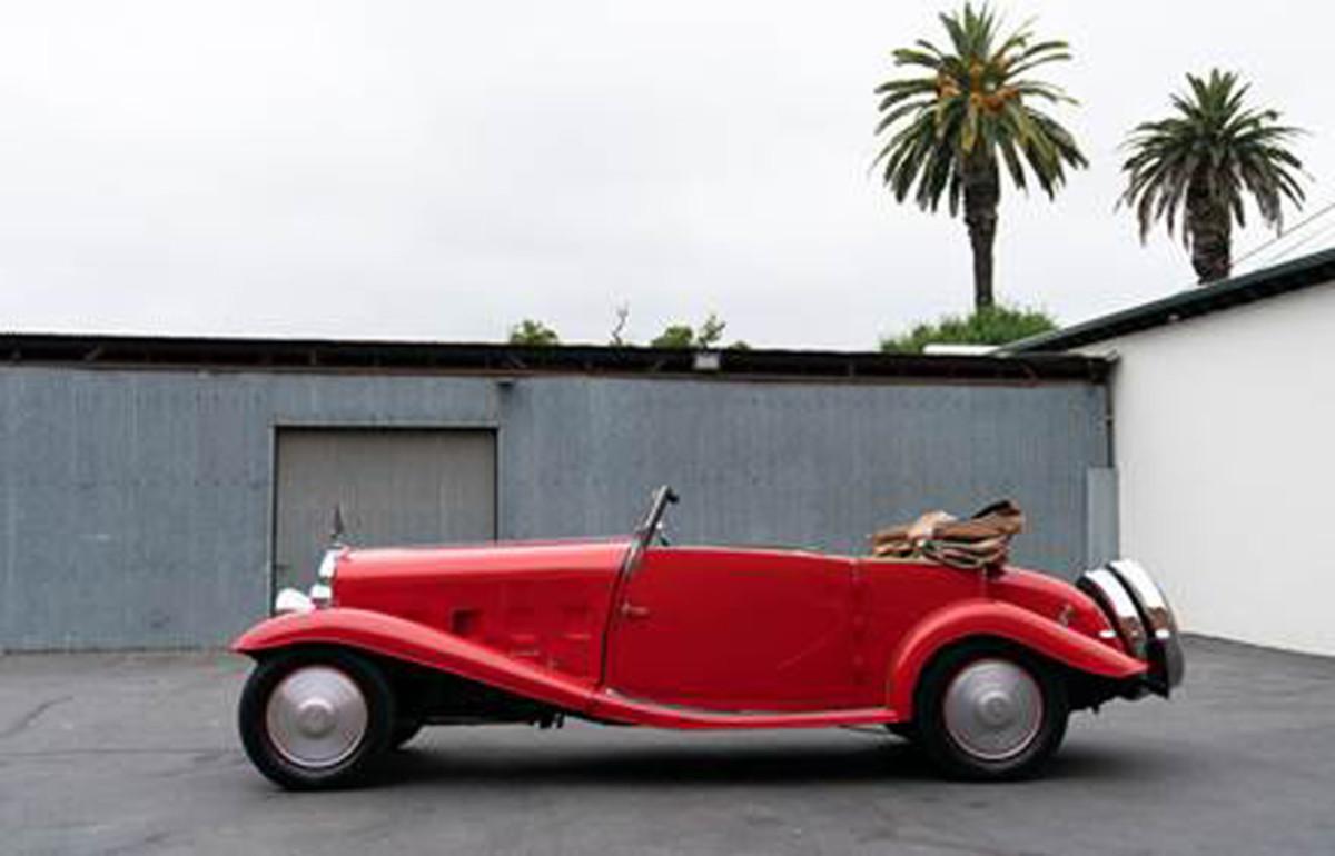 1932 Delage D8/15 S Cabriolet