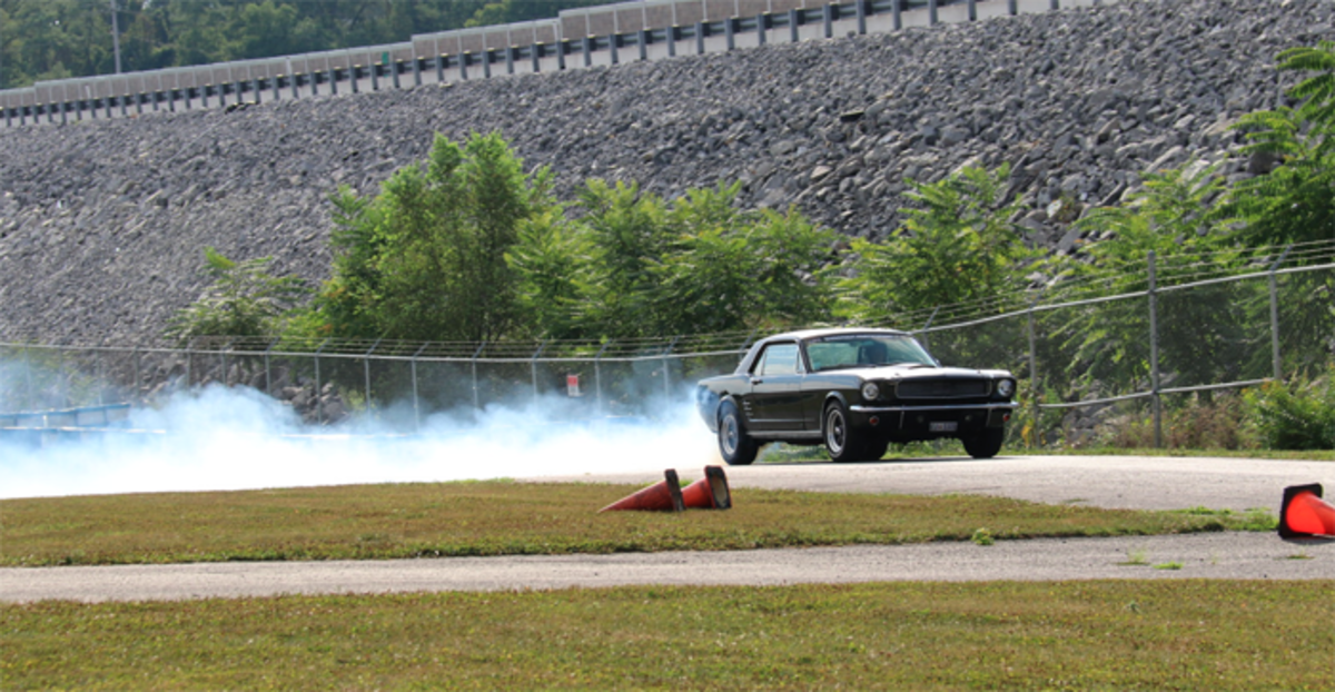 Mustang ripping it up