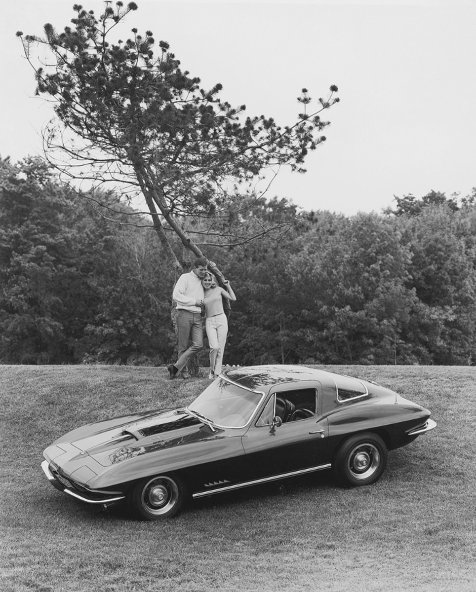 This particular '67 Corvette was the first L88 built.