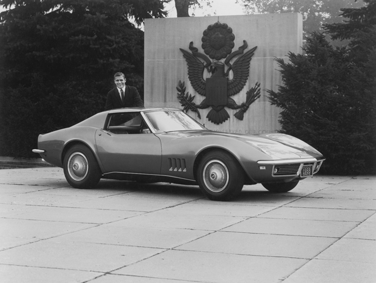 Astronaut Alan Shepard owned this '68 Corvette.