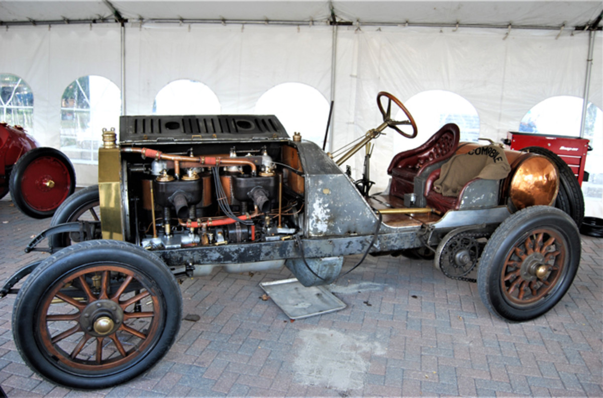 Peter Helck promised to never restore the car, which still wears its original paint